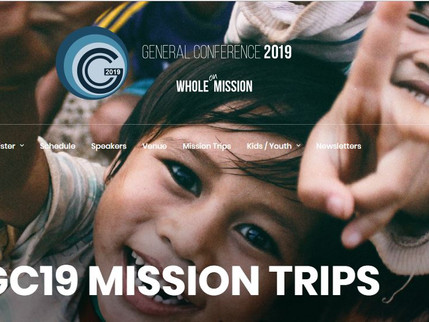 Mission Trips - Summer 2019!
