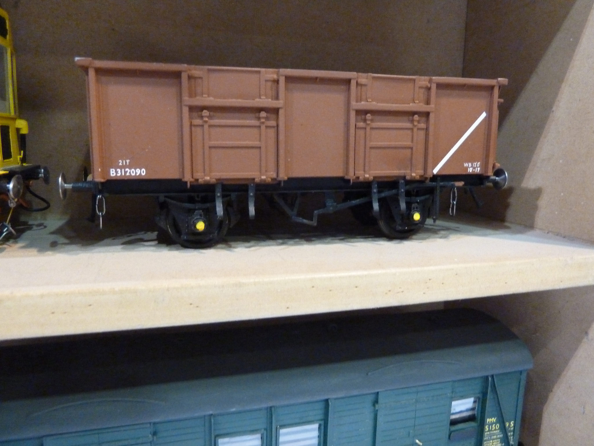 BR 21t Mineral wagon vacuum fitted