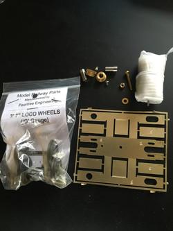 Motor bogie kit
