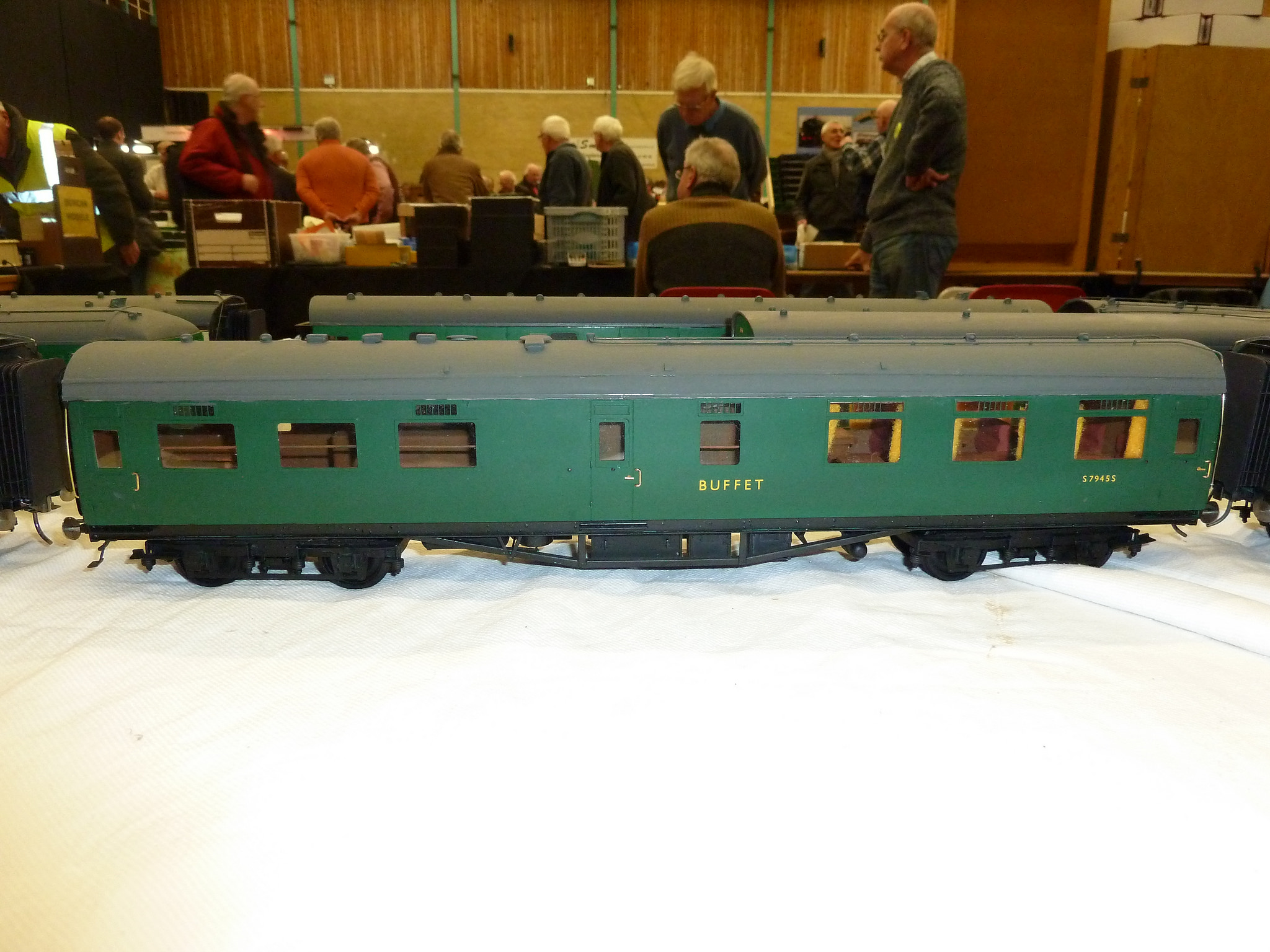SR Maunsell Buffet car