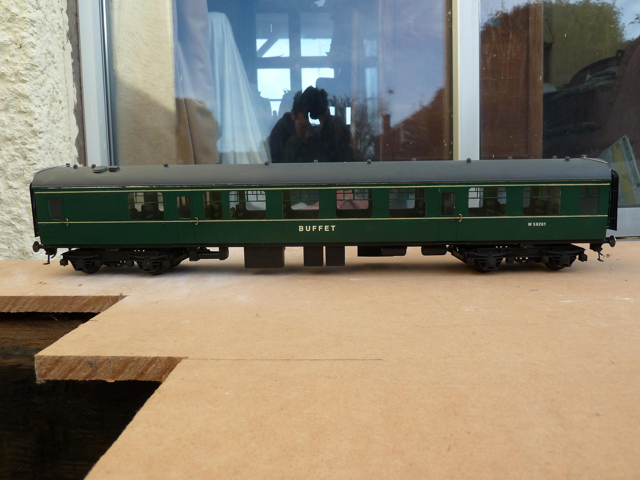 Class 120 DMU buffet car