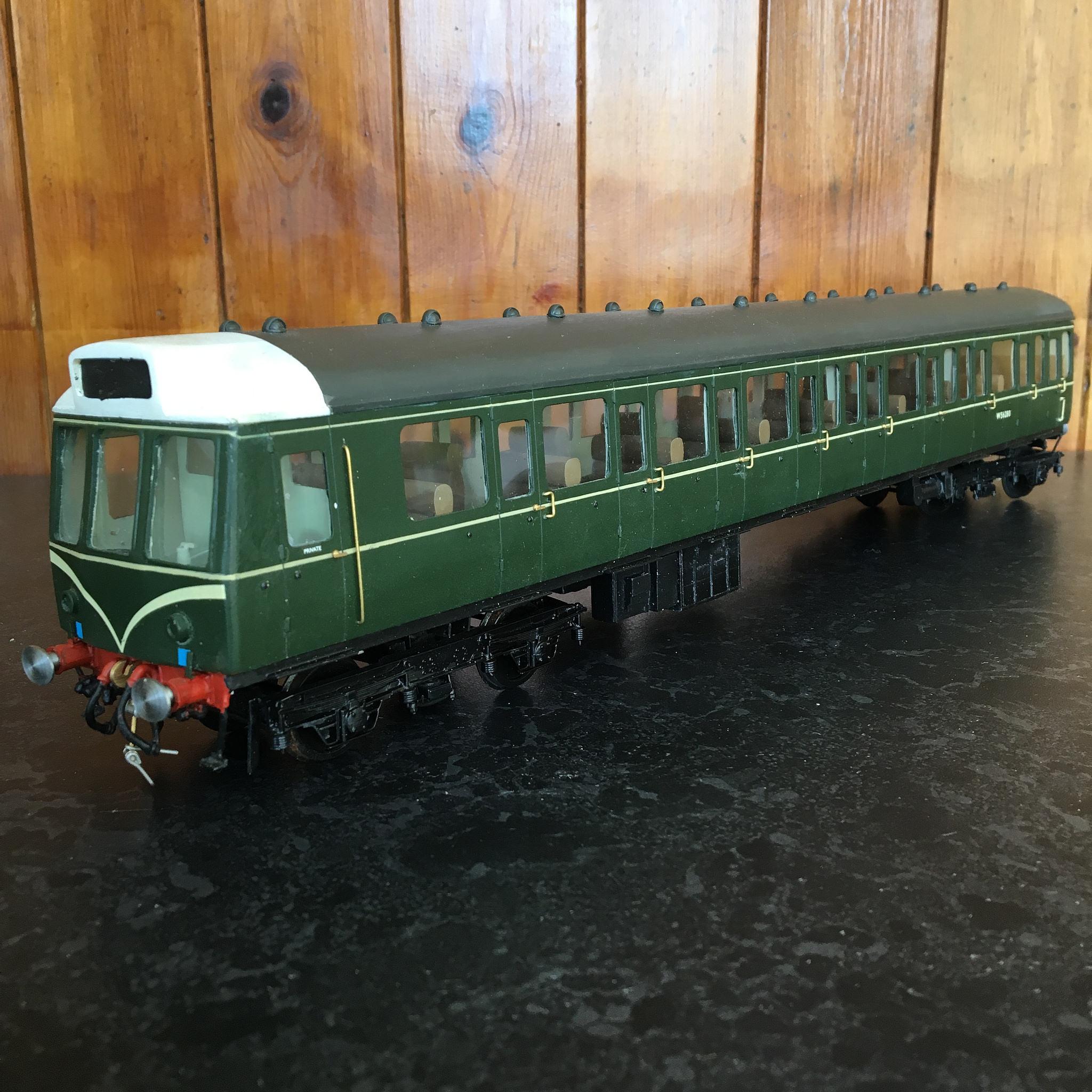 Class 121 DMU trailer coach