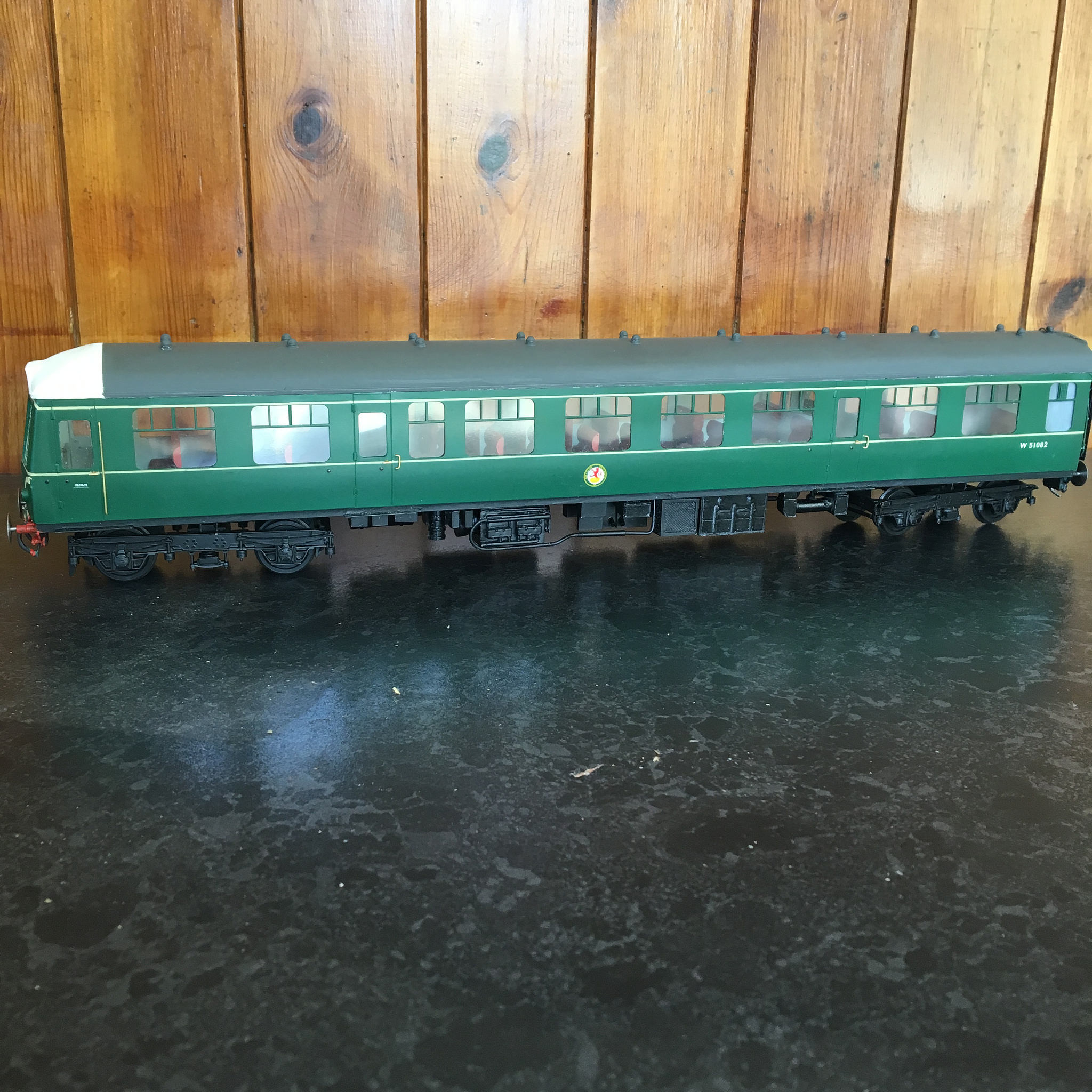 Class 119 DMU Driving motor second