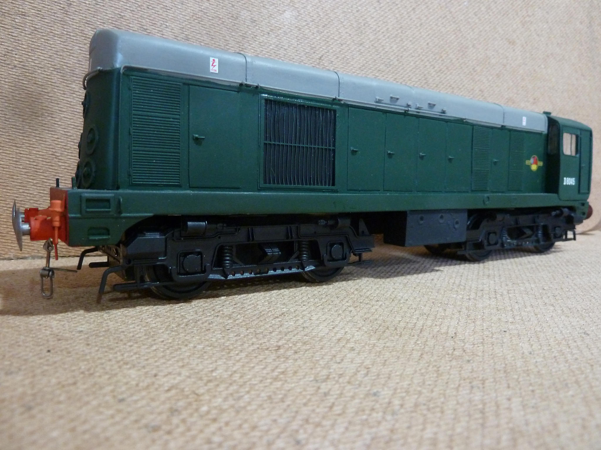 BR Class 20 diesel from our kit