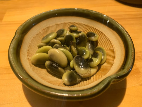 ⑥鞍掛浸し豆