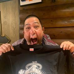 石川浩司さんサイン入りTシャツ