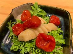 大蒜と小蕃茄のピクルス