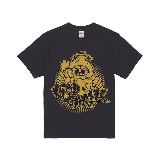 オーセンティックTシャツ ゴールド #011  T-shirt  GodGarlic authentic GOLD
