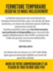 Black and Yellow Emergency Response Post