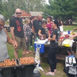 Levée de fonds dîner hot dog parc de la Mauricie