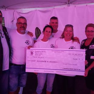 $3000 remis  au Service a la communauté du Rousseau