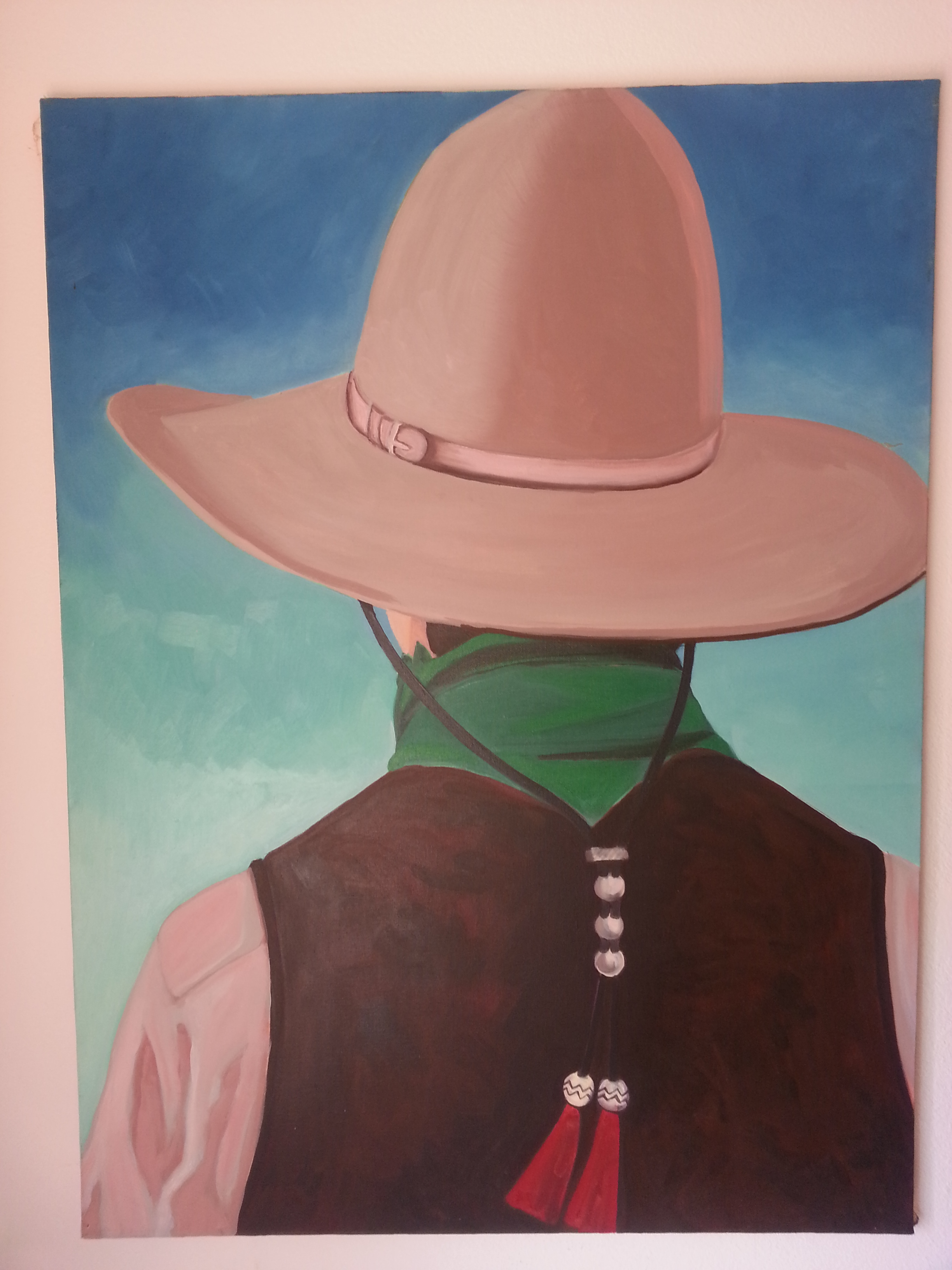 The Man in The Hat 2 – SOLD