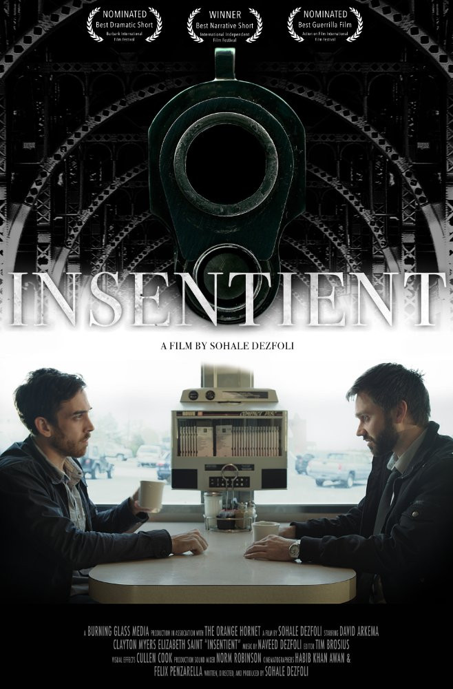 SHORT FILM - INSENTIENT - NOW ON AMAZON PRIME!
