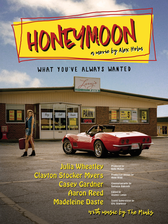 HONEYMOON - Nears Completion of Post-Production. For now...a Poster!