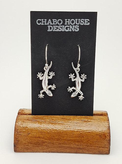 Baby Gecko Earrings