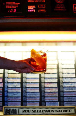Negroni. Jukebox. Dutch Kills.   Photo credit: Natalie Jacob