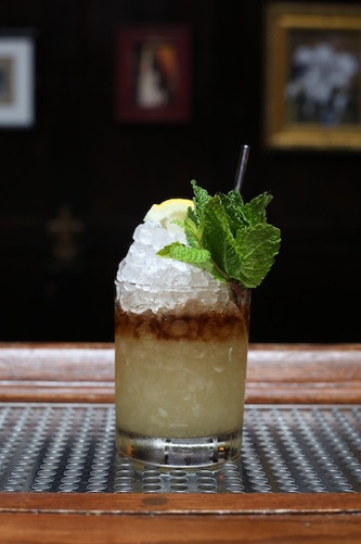 Come for a Cobbler, stay for a Swizzle. Dutch Kills is qualified to satisfy, seven nights a week.   Photo credit: Natalie Jacob