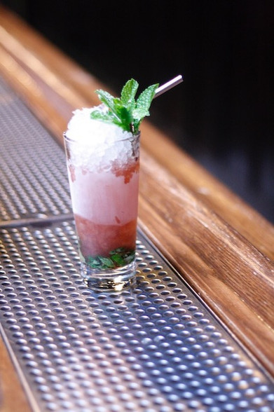 The Queen's Park Swizzle at Dutch Kills.   Photo credit: Natalie Jacob