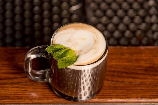 Irish Coffee  Cream - Rich as an Irish Brogue Coffee - Strong as a friendly hand Sugar - Sweet as the tongue of a rogue Whiskey - Smooth as the wit of the land  (adapted from the original 1942 recipe by Joseph Sheridan at Foynes Airbase in Limerick, Ireland)  Photo credit: Natalie Jacob