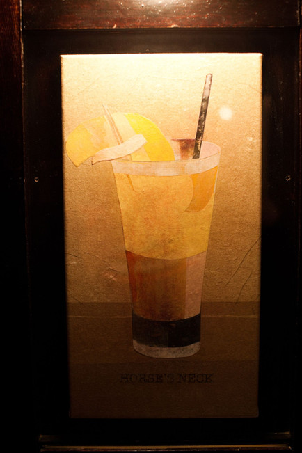 A portrait of the Horse's Neck cocktail at Dutch Kills by Brandon Friend, circa 2009.  Photo credit: Isaac Rosenthal
