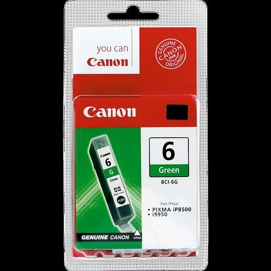 Canon Bci-6G Green Cartridge