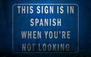 Spanish lessons...