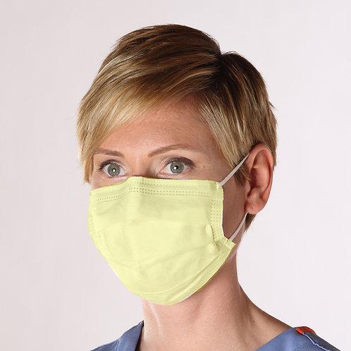 Isolation Mask - Yellow Earloop - Case of 500