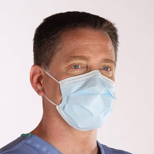 Pro-80 Level 1 - Fluid Resistant Earloop Mask - Case of 500
