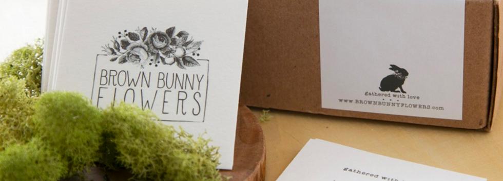 brown bunny flowers