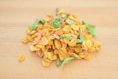 にんじんと小松菜のベジグラノーラ