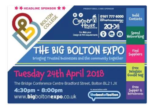 Big Bolton Expo - Stand 57