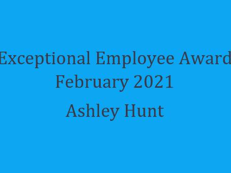 Exceptional Employee Award