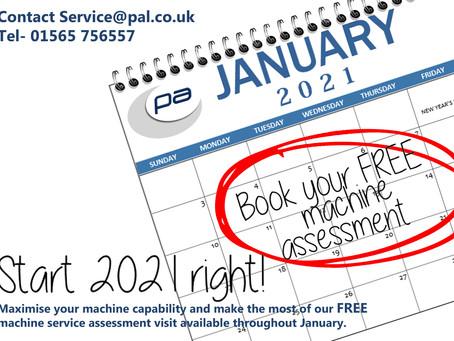 Free Machine Assessment