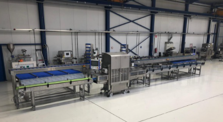 Het Packhuys installs three top seal lines at VGK Cool Logistics to trayseal grapes