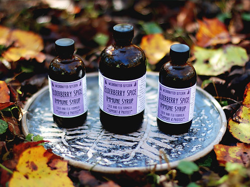 Edlerberry Spice Syrup