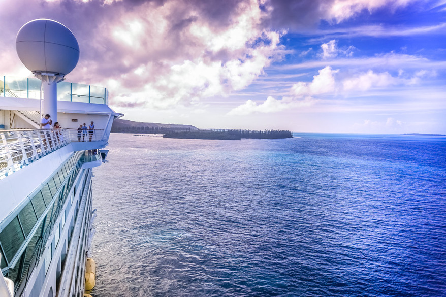 Royal Carribean in the South Pacific