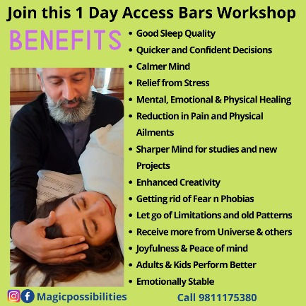 1 Day Access Bars Certification Workshop