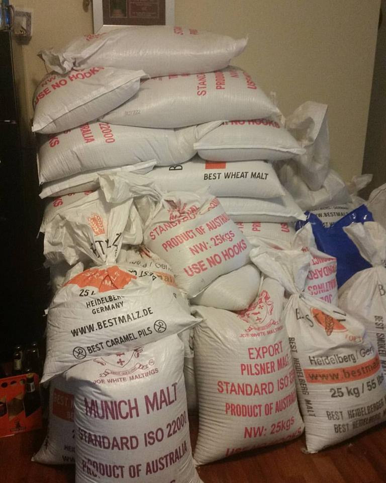 All the Malt in my living room