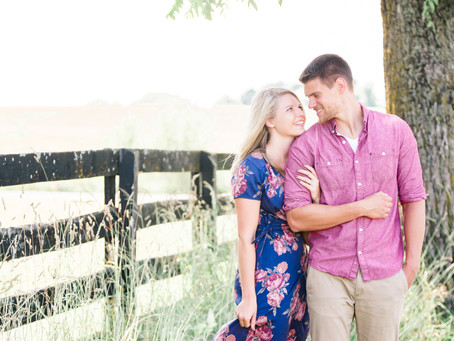 Sky Ridge Farm Engagement Session | Waynesboro, VA