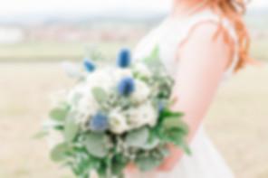 Harrisonburg Virginia Bride and Bouquet