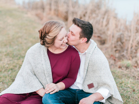 Silver Lake Mill Engagement Session | Dayton, VA