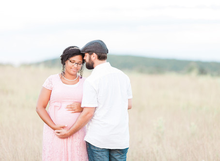 Big Meadows Maternity Session   Skyline Drive, VA