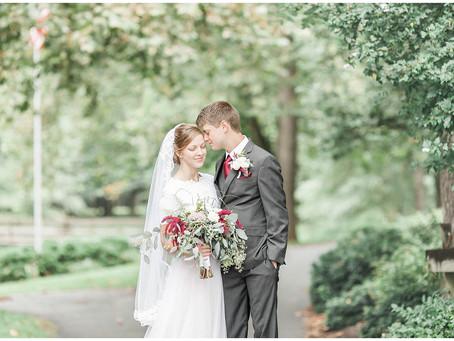 Dayton Mennonite Church Wedding | Dayton, VA