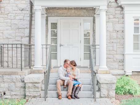 James Madison University Fall Family Session | Harrisonburg, VA