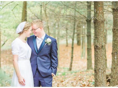 Park View Mennonite Wedding | Harrisonburg VA