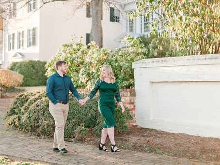 Historic Downtown Staunton Engagement Session | Staunton, VA