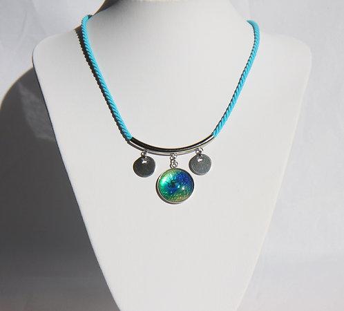 bleu, vert, turquoise
