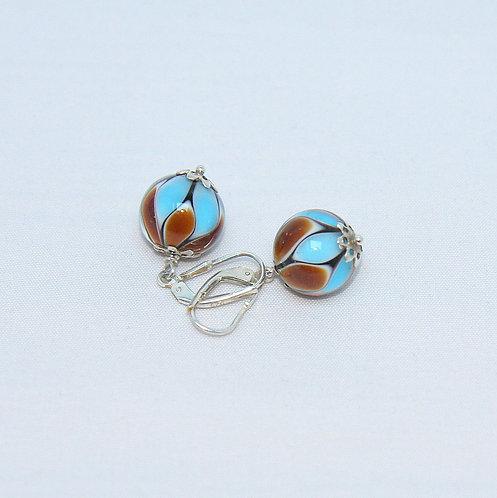 marron-turquoise