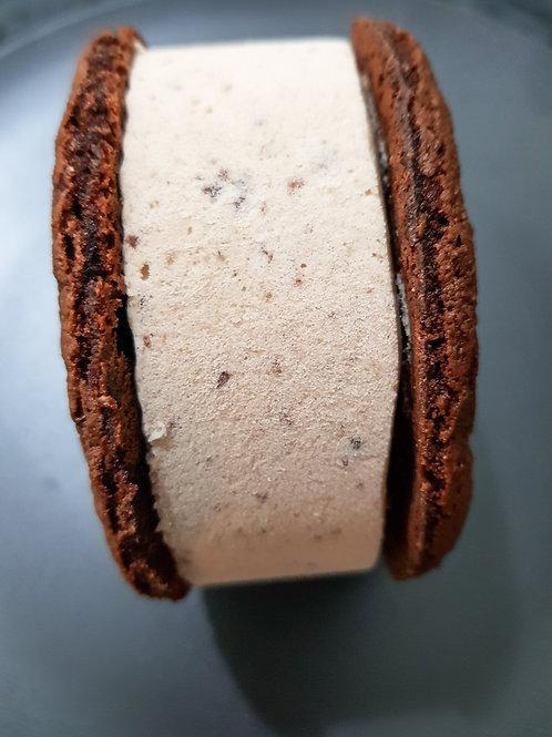 Cherry Ripe Ice Cream Sandwich