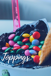 Toppings for Ice Cream